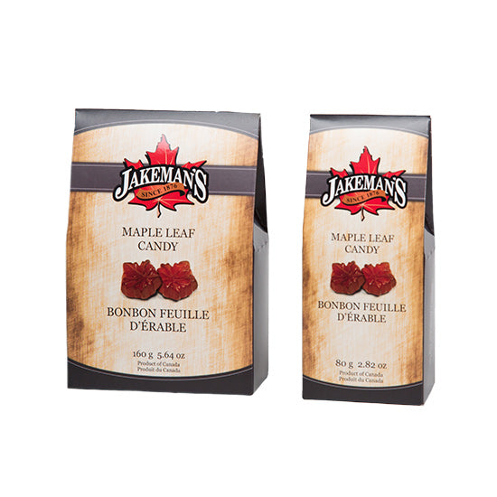 Jakeman's Maple Leaf Hard Candy Boxes