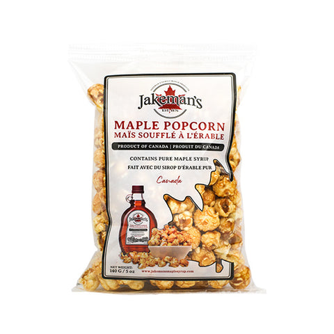 Jakeman's Maple Popcorn, 140g