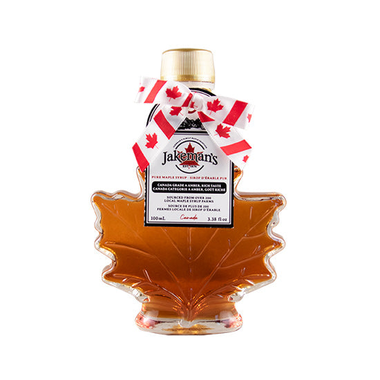 Jakeman's Pure Maple Syrup Autumn Leaf Bottle 100ml