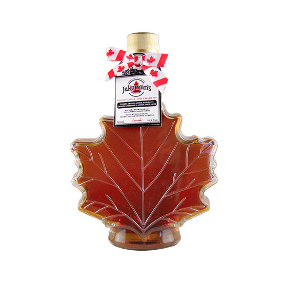Jakeman's Pure Maple Syrup Autumn Leaf Bottle 500ml