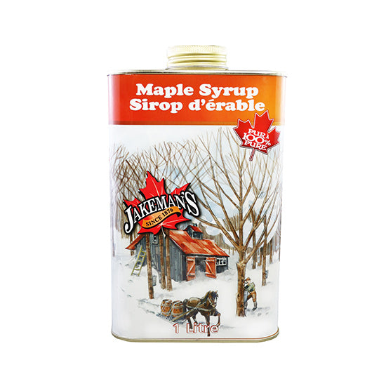 Jakeman's Pure Maple Syrup Tin 1L