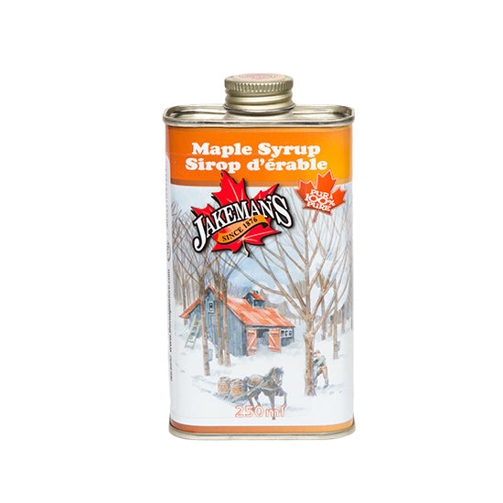 Jakeman's Pure Maple Syrup Tin 250ml