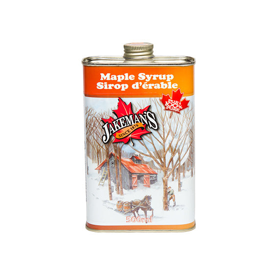 Jakeman's Pure Maple Syrup Tin 500ml