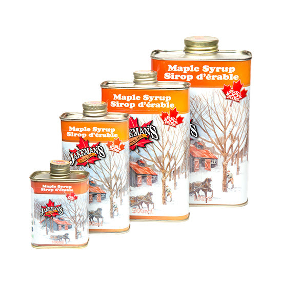 Jakeman's Pure Maple Syrup Tin Collection