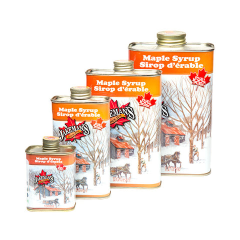 Jakeman's Pure Maple Syrup - Rustic, 100ml - 1L