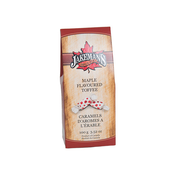 Jakeman's Maple Toffee Candy Box 100 grams