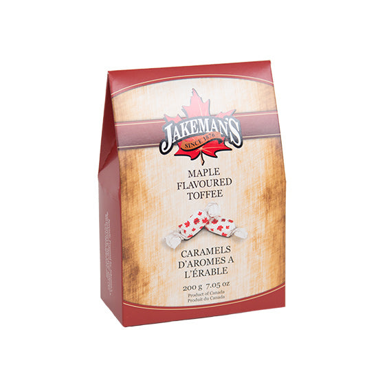 Jakeman's Maple Toffee Candy Box 200 grams