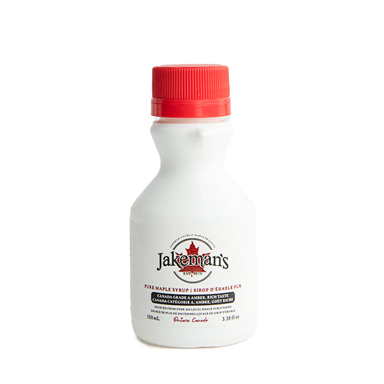 Jakeman's 100ml Pure Maple Syrup White Jug
