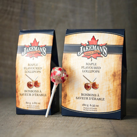 Maple-Flavoured Lollipops