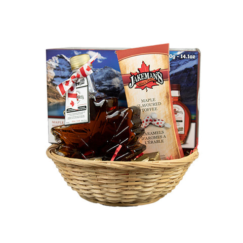 Jakeman's gift basket 3 of assorted maple products