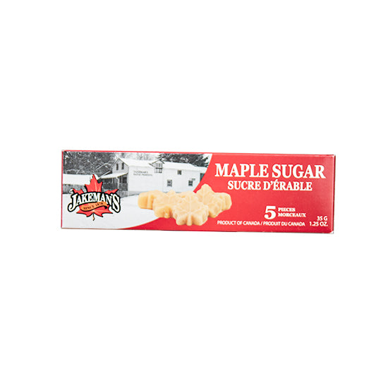 Jakeman's Maple Leaf Sugar 5-pack