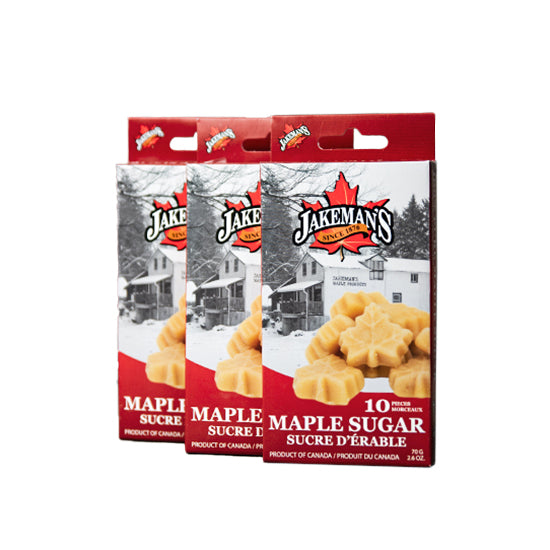 Jakeman's Maple Leaf Sugar 35g - 70g x 3
