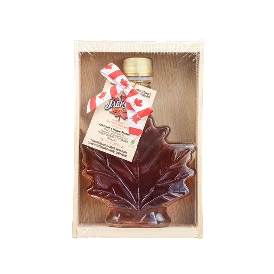 Jakeman's Crated Autumn Leaf Glass 100ml