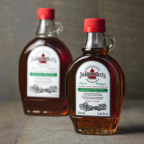 Jakeman's Organic Maple Syrup, 250ml - 500ml