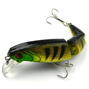 Hot Fishing Lures Fish Bass Tackle Hooks Baits Crank Bait