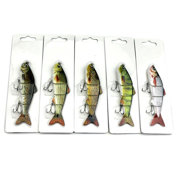 1PC Simulation Fake Fishing Lures Floats Bobber Crankbaits Hooks Minnow Baits Fish Tackle Tools