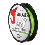 DAIWA J-BRAID 150M / 164Yds 8 Strands PE Braided Fishing Line Super Strong Fish Line Fishing Wires10-60lb