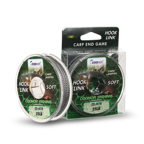 20M Fishing Line Monofilament Thin Fishing Line Smooth Casting Carp Hook Fishing Line for Freshwater and Saltwater