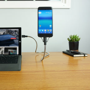 BOBINE FLEX C : The World's Most Flexible Android Dock