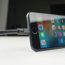 Load image into Gallery viewer, TITAN PLUS : Dual Layer Flexible Steel : 1.5 Meters - iPhone