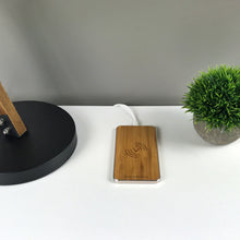 Load image into Gallery viewer, GRAVITY TOUCH Bamboo : Premium Wireless Charging Base