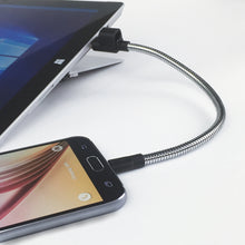 Load image into Gallery viewer, TITAN LOOP M : Dual Layer Flexible Steel - MicroUSB