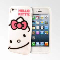 Hello Kitty White 3D iPhone 5S/5 Cases