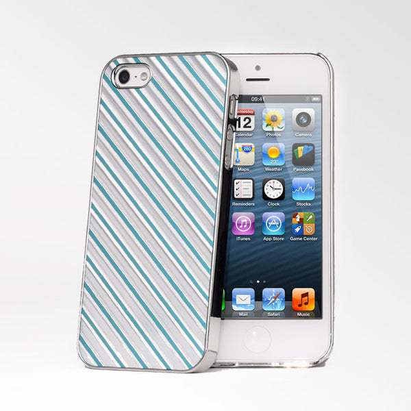 Chrome Metallic Stripes iPhone 5S/5 Cases