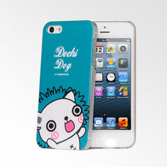 Cute Pets Blue Dochi Dog iPhone 5S/5 Case