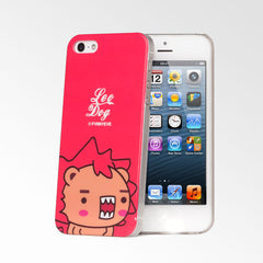 Cute Pets Red Leo Dog iPhone 5S/5 Case
