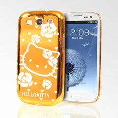 Hello Kitty Chrome Metallic Samsung Galaxy S3 Cases