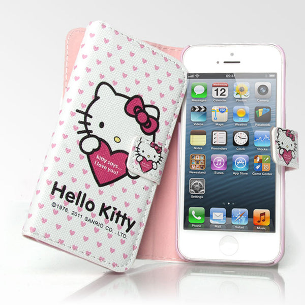Hello Kitty I Love You Folio iPhone 5S/5 Case