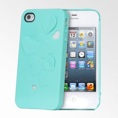 Kirigami Hearts iPhone 4/4S Cases