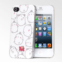 Molang Bouncing iPhone 4/4S Case