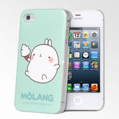 Molang Love Ice Cream iPhone 4/4S Case
