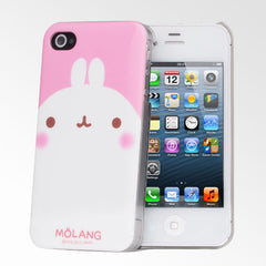 Molang Pink iPhone 4/4S Case