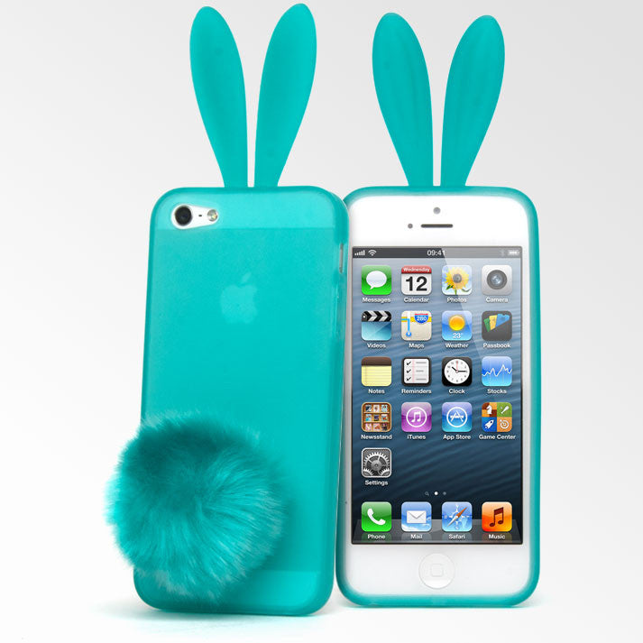 cute phone cases for iphone 5s rabito bunny ears iphone 5 cases lollimobile 2434
