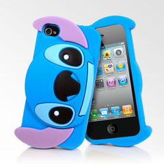 Silicone 3D Stitch iPhone 4/4s Cases