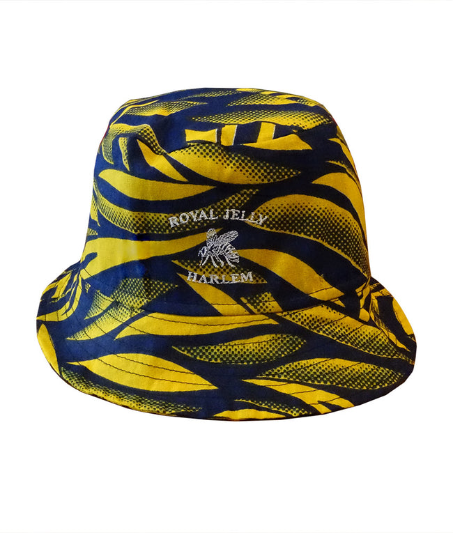 Buketo Bucket Hat in Blue Bananas