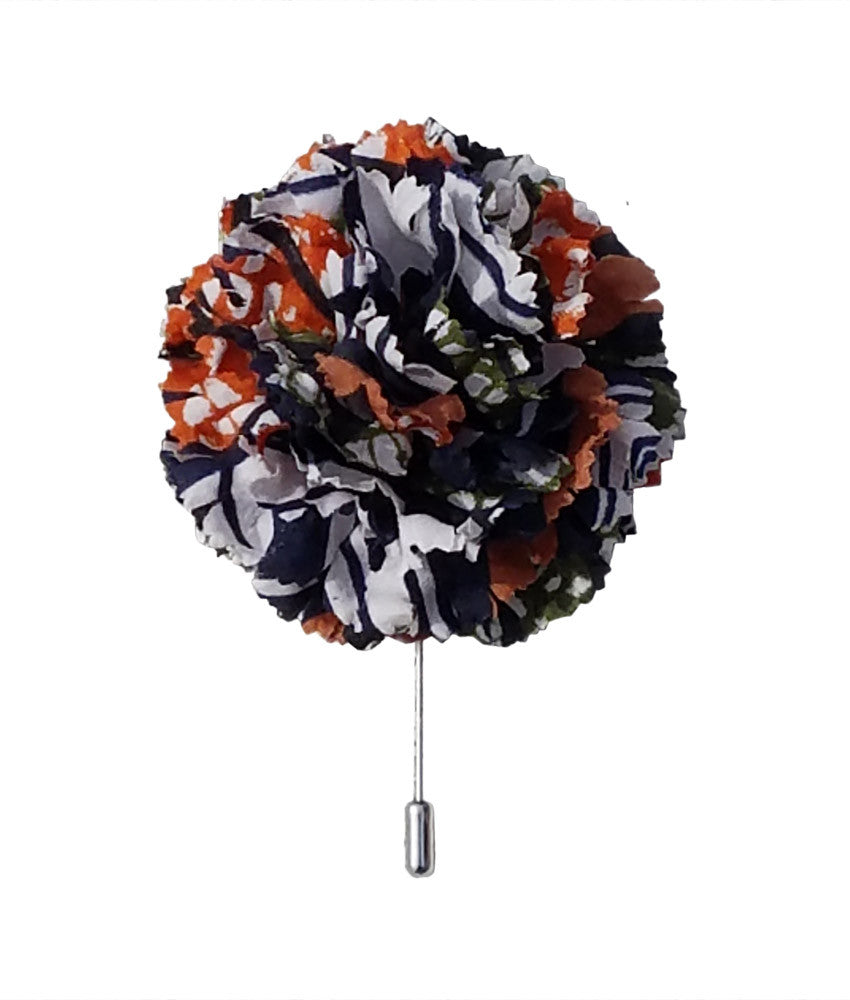Large Lapel Flower in Diamond Jubilee