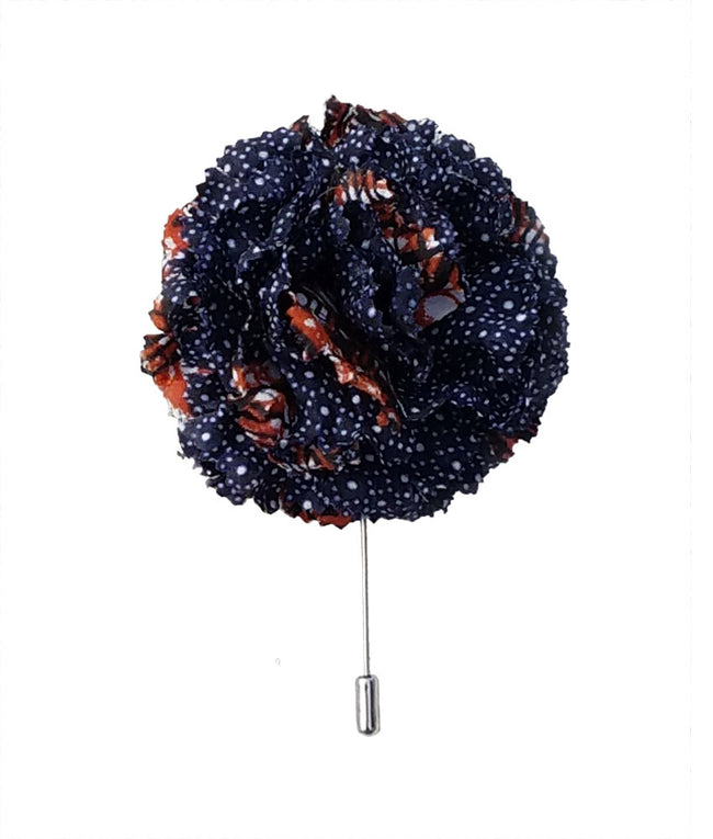 Large Lapel Flower in Galaxy