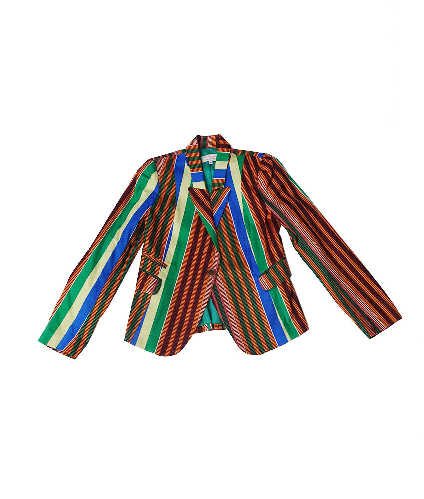 Blaze in Preppy Kente