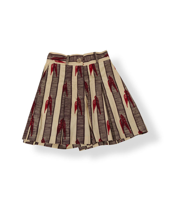 Culottes in Crimson Sparrows