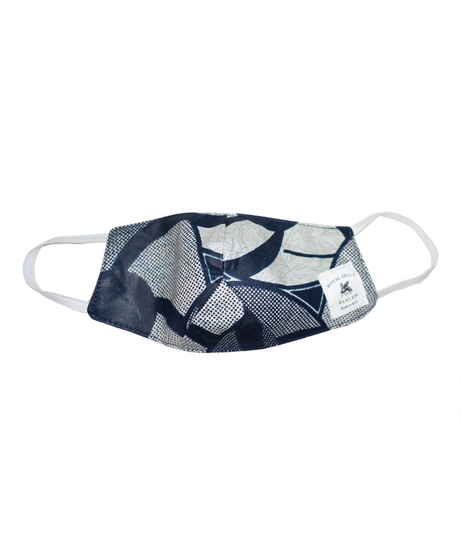 Kids Mask in Blue Pinwheel