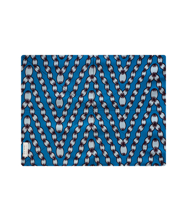 Placemat in Cerulean Blue Ropes