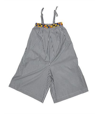 Polly in Grey Indigo Check