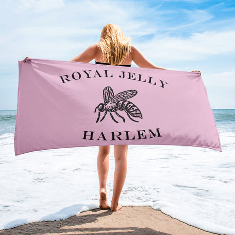 RJH Logo Towel in Butter Yellow