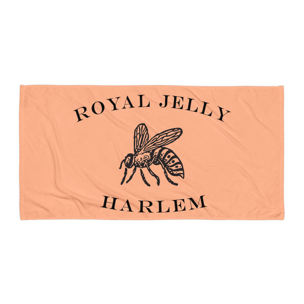 RJH Logo Towel in Melon
