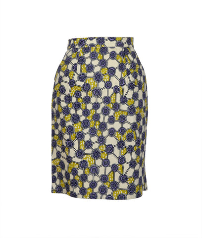 Pencil Skirt in Kamo