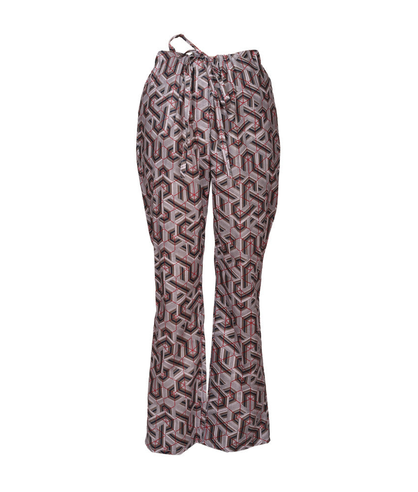 Cabana PJ Pants in Art Deco Grey